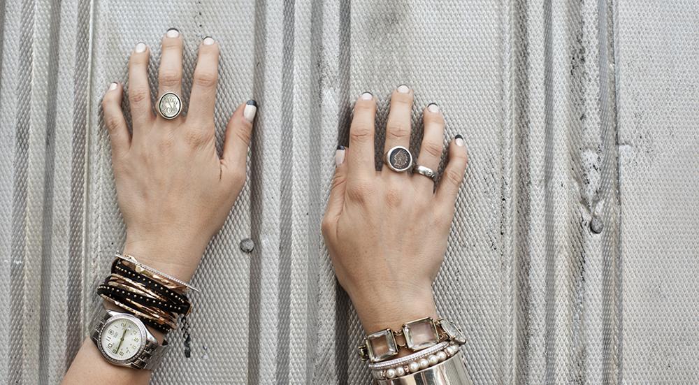 Ruky - Prstene